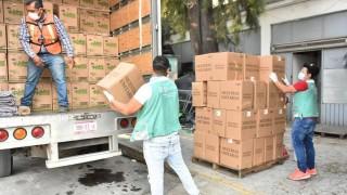 Empresas y embajada de Bélgica donan 50,700 pañales a CAIS